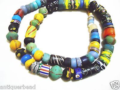 Ghana Old Mix Vintage Antique Beads Venetian- Africa Trade Beads
