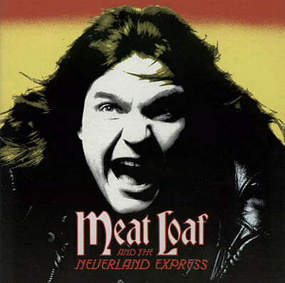 "MEAT LOAF Neverland Express 1985 UK 11""x11""  tour programme + TICKET STUB STUBB"