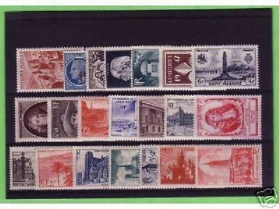 Timbres  Annee  Complete  France Neuf  Luxe  1947 +++