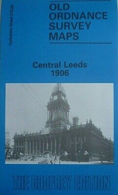 Old Ordnance Survey Detaile Maps Central Leeds  Yorkshire 1906  Godfrey Edition