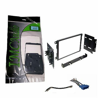 mercedes benz double 2 din dash radio stereo install kit wire double din stereo radio install dash kit w antenna adapter wire harness