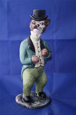Bairstow Manor Collectables 'dandy' Cat Figure - Cats Of The Manor - New