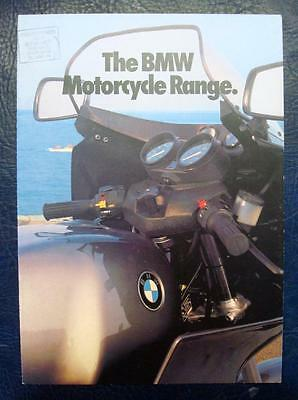 BMW - Motorcycle Range Sales Brochure - 1982 - #111201220