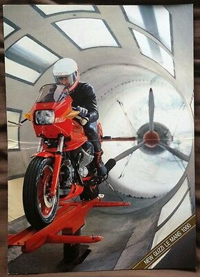 MOTO GUZZI LE MANS 1000 - Motorcycle Sales Brochure - MAY 1986