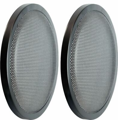 """PAIR 8"""" Heavy Duty High Excursion Subwoofer Speaker Classic Grill Grills Cover"""