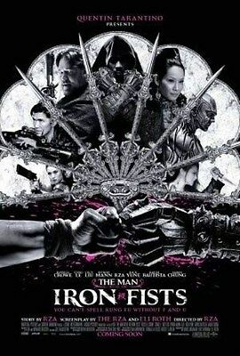 MAN WITH THE IRON FISTS -2012 - orig 27x40 D/S Movie Poster - QUENTIN TARANTINO
