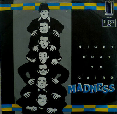 "7"" 1979 RARE IN VG+++ ! MADNESS : Night Boat To Kairo"