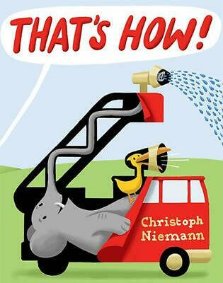 That's How! by Christoph Niemann Hardcover Book (English)