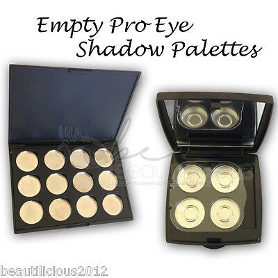 MAGNETIC Empty Eye shadow Pans with Palette Perfect For MAC PRO PAN refills!