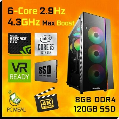 INTEL Core i5 6400 3.3GHz Max GAMING COMPUTER 1TB 8GB DDR4 HDMI Quad Desktop PC