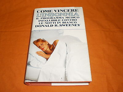come si vince l'insonnia donald sweeney 1991