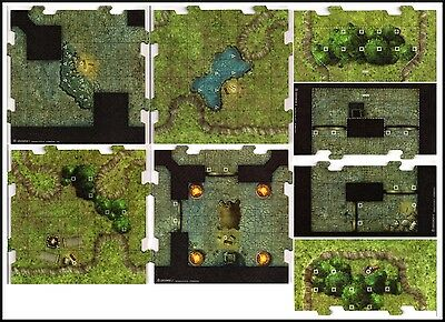 D&D TILE SET - Dungeon Command: Blood of Gruumsh Dungeons & Dragons / Pathfinder