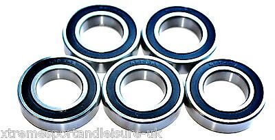 5 pack 61901 2rs [6901] 12x24x6mm Thin Section SEALED HIGH PERFORMANCE BEARINGS