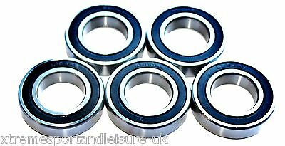5 pack 61802 2rs [6802] 15x24x5mm  Thin Section SEALED HIGH PERFORMANCE BEARINGS