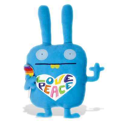 "Retired Gund - Uglydoll - 18""  Colorful Wippy - Peace + Love + Lollypop  - Nwt"