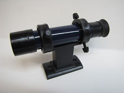 Meade Telescope 5x24 Crosshair Finderscope and Plastic DS Mounting Bracket Blue