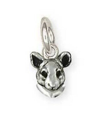 Solid Sterling Silver Chinchilla Charm Jewelry  CL9-C