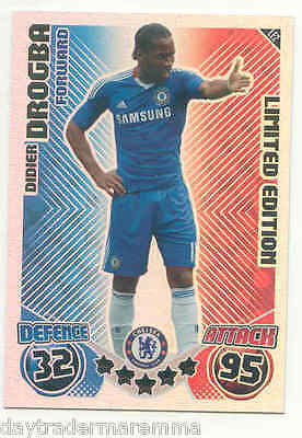 2010/2011 Topps Match Attax Limited Edition Didier Drogba - Chelsea