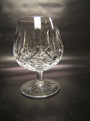 """Waterford Brandy Glass Lismore Pattern Mint Condition 5 1/4"""" Tall"""