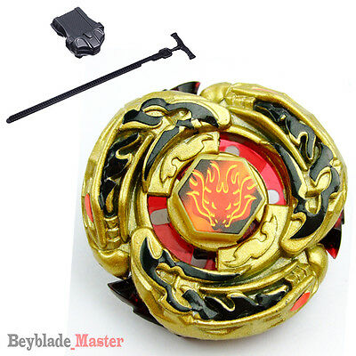 Fusion Beyblade Gold Armored L-DRAGO Destructor (Destroy)+Power Launcher+Winder