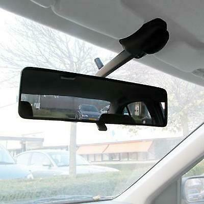 Interior Car Van Panoramic Windscreen Rear View Mirror Wider View Safer Driving