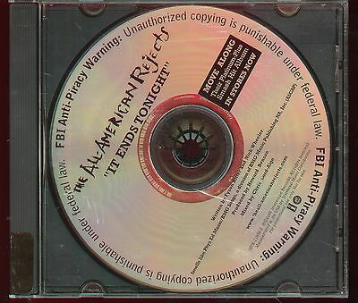 The All-American Rejects It Ends Tonight Promo CD Single