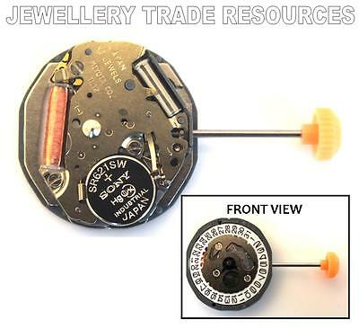 NEW GENUINE MIYOTA 1L12 REPLACEMENT QUARTZ WATCH MOVEMENT 3O'c or 6O'c DATE