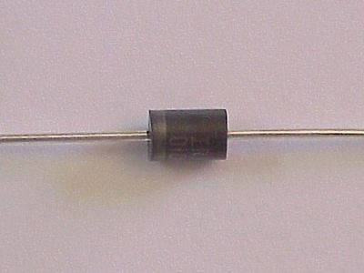 10  -  1N5400  50V/3A  Silicon  Rectifier  -  New