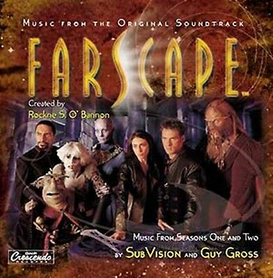 Farscape Television Series Music Soundtrack CD, NEW SEALED