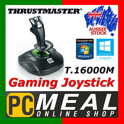 Thrustmaster T.16000M Flight Simulator Joystick PC Gaming Controller 16 Buttons