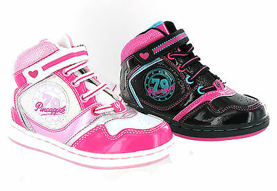 Baseball Boots PINEAPPLE Dance Girls PINK BLACK Trainers Size 5-9