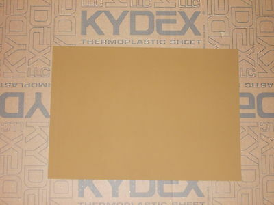 1.5mm A4 KYDEX T Sheet 297 mm X 210 mm P-1 Haircell Coyote Brown, Holster Sheath