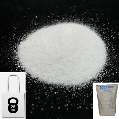 "Soda Blasting Media ""ecostrip"" Sodium Bicarbonate 25Kg Bicarbonate Of Soda Ecoss"