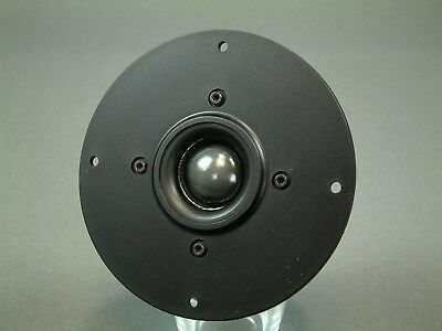 92 dB Shielded E-1 High Power 90 Watt RMS Dome Tweeter 8 Ohm Pair 4.5 inch face