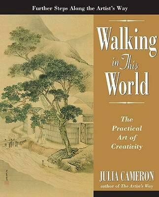 Walking in This World by Julia Cameron (English) Paperback Book Free Shipping!