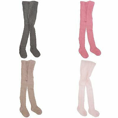 Baby Girls Casual Wear Cable Cotton Rich Lycra Tights