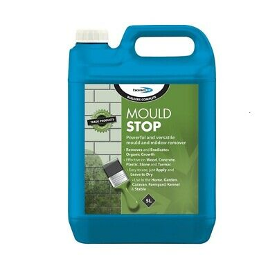 Mould Stop Removing Mould Mildew Walls Ceilings Algae Moss Fungicidal