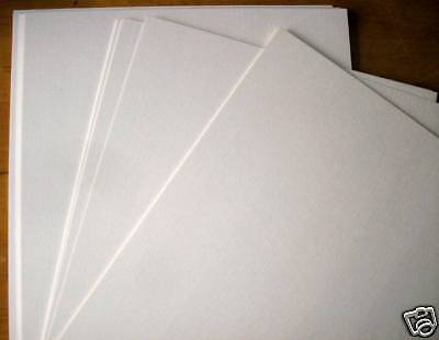 100 X A4 Smooth Thick White Decoupage Craft Card 160Gsm