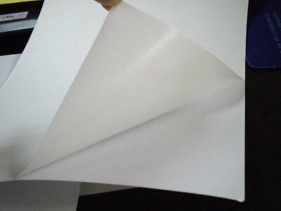 A4 & A3 White Self Adhesive Gloss Glossy Sticky Paper