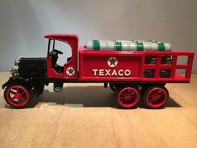 1925 KENWORTH #9 TEXACO STAKE DELIVERY TRUCK -  DIECAST BANK by ERTL #9385