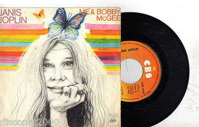 "JANIS JOPLIN - Yo Y Bobby McGee/ Media Luna, SG 7"" RARE SPANISH PRESS 1975"