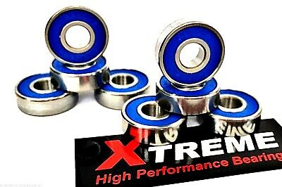 16 pack Xtreme 627 RS ABEC 9 HIGH PERFORMANCE ROLLER SKATE BEARINGS QUAD INLINE