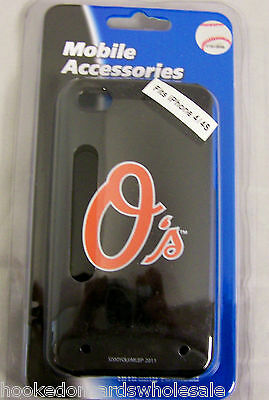 Baltimore Orioles Apple iPhone 4 4S Faceplate Hard Protector Case Cover Snap On