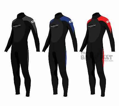New Two Bare Feet SUPAFLEX Mens Full Body Wetsuit