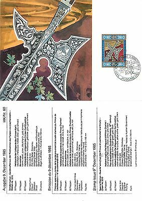 Mk/Nr. 60 Armi della guardia reale Maximum card Liechtenstein (R-L 018)