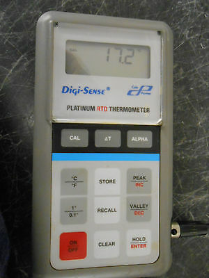 Cole Parmer Digi-Sense 93400-00 Platinum Digital Thermometer