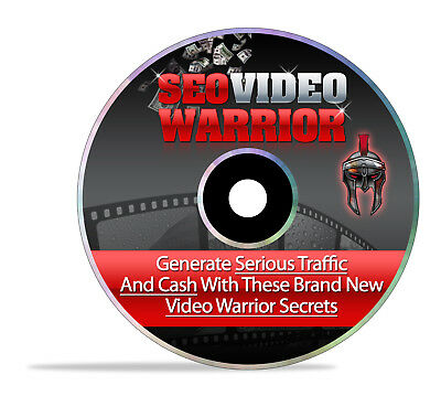 How To Generate Traffic With SEO Video Marketing Secrets- Videos & eBook on 1 CD