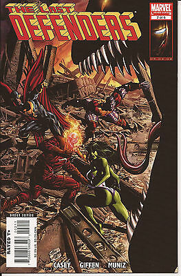 Last Defenders # 2 * Near Mint *