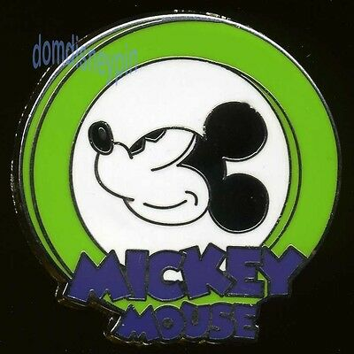 Disney Pin *Oh Mickey!* Mystery Collection - Light Green (Smiling Profile)!