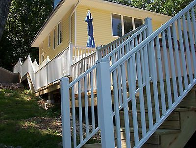 Aluminum Deck Railing 72 inches wide - Residential & Commercial Grade